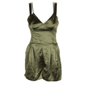 Guess Army Olive Sleeveless Christian Romper
